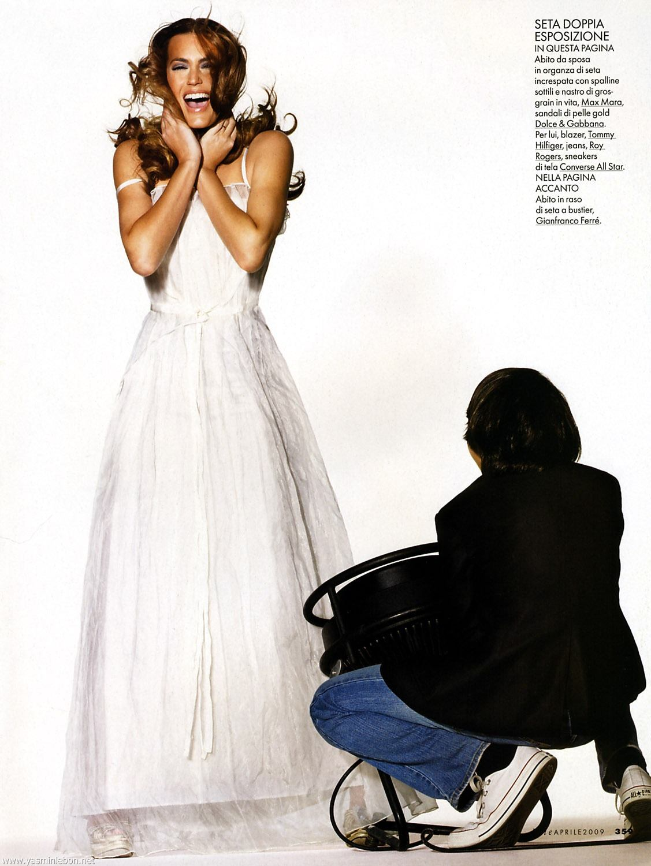 Yasmin Le Bon | editorials | 2009